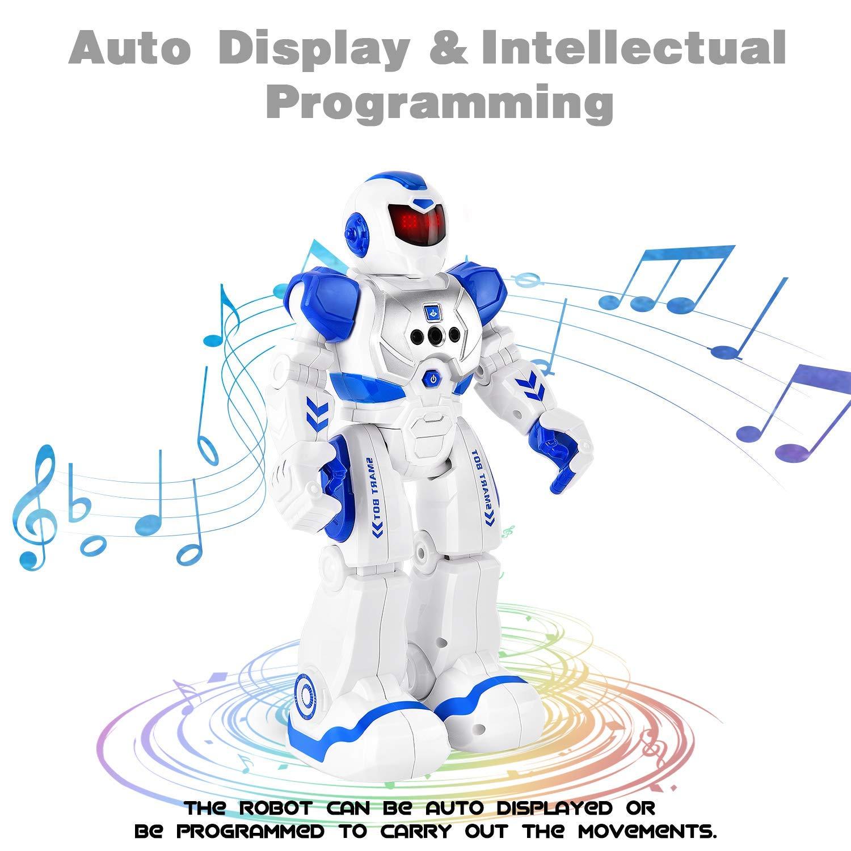 Rainbrace Programmable RC Robot for Kids Remote Control Robot Singing Dancing Smart Robotics for Boys Girls Birthday Gift Robot Toys 3-10 Years Old Children by Rainbrace (Image #4)
