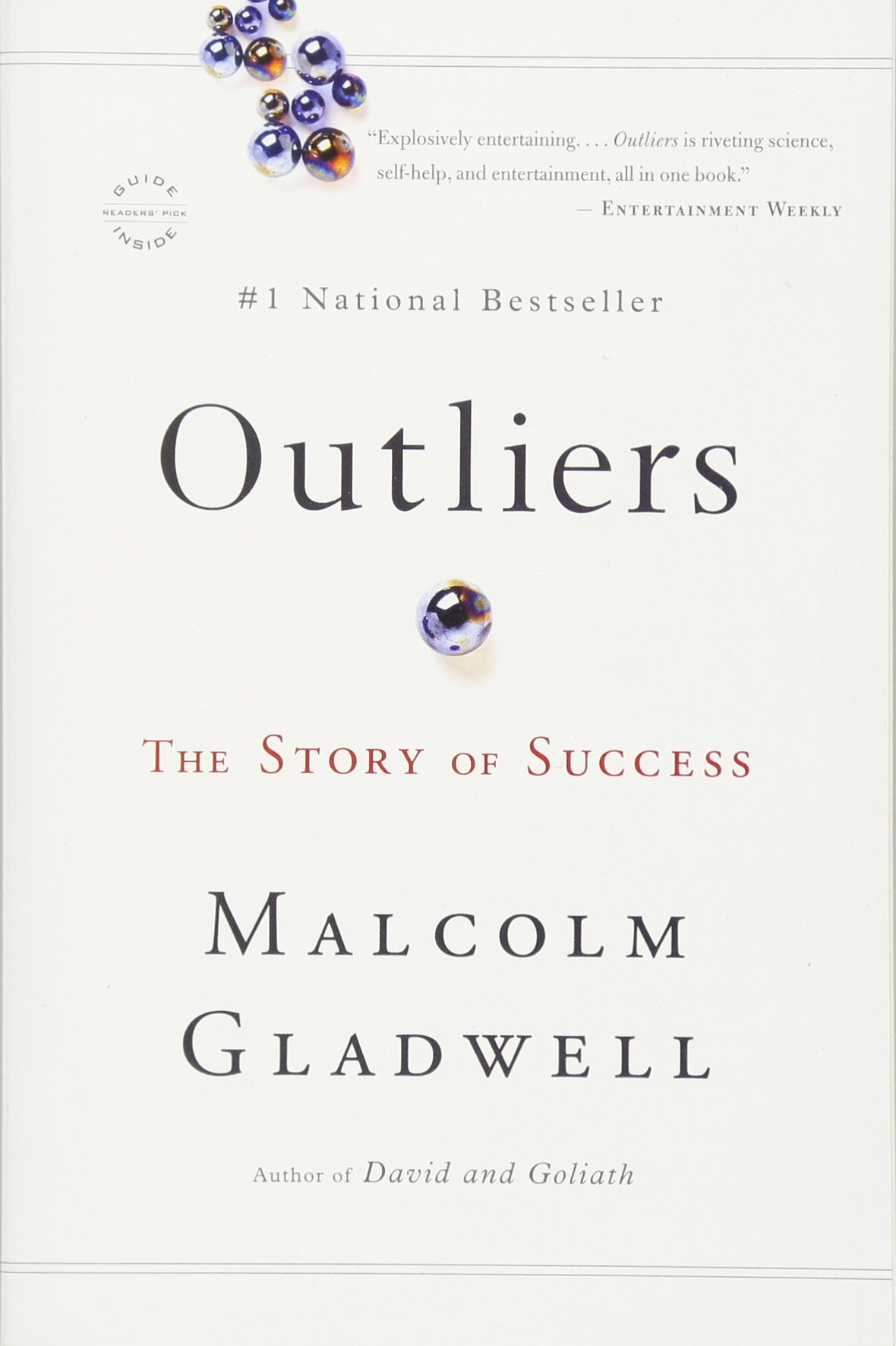 Outliers Story Success Malcolm Gladwell product image