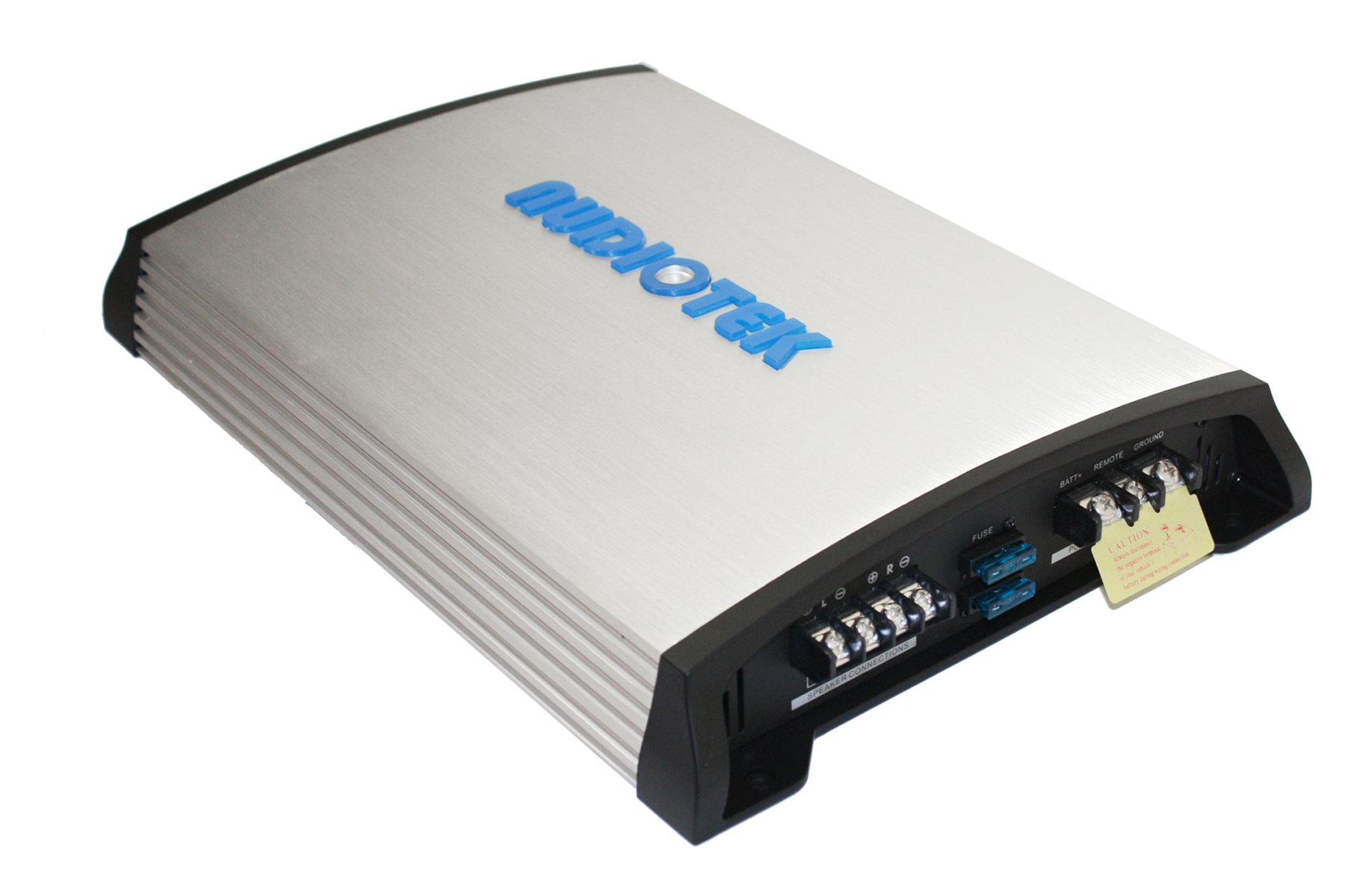 Audiotek At840S 2 Channels Class Ab 2 Ohm Stable 2400W Stereo Power Car Amplifier W/ Bass Control by Audiotek (Image #5)