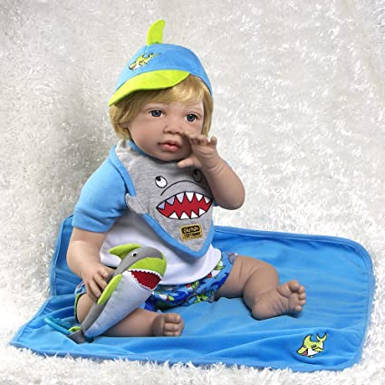581746a26b84 Amazon.com  Paradise Galleries Reborn Toddler Sharkey