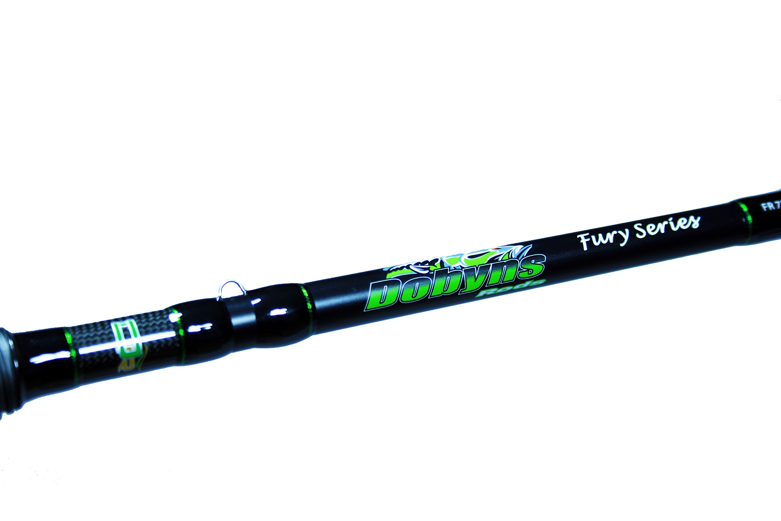 Dobyns Rods Fury Series FR 705CB Medium/Heavy Power Mod-Fast Action Crankbait Rod, 7'0'', Black/Green by Dobyns Rods (Image #2)