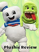 Ghostbusters Stay Puft Marshmallow Man and Slimer Build A Bear Workshop Plushie Toy Review