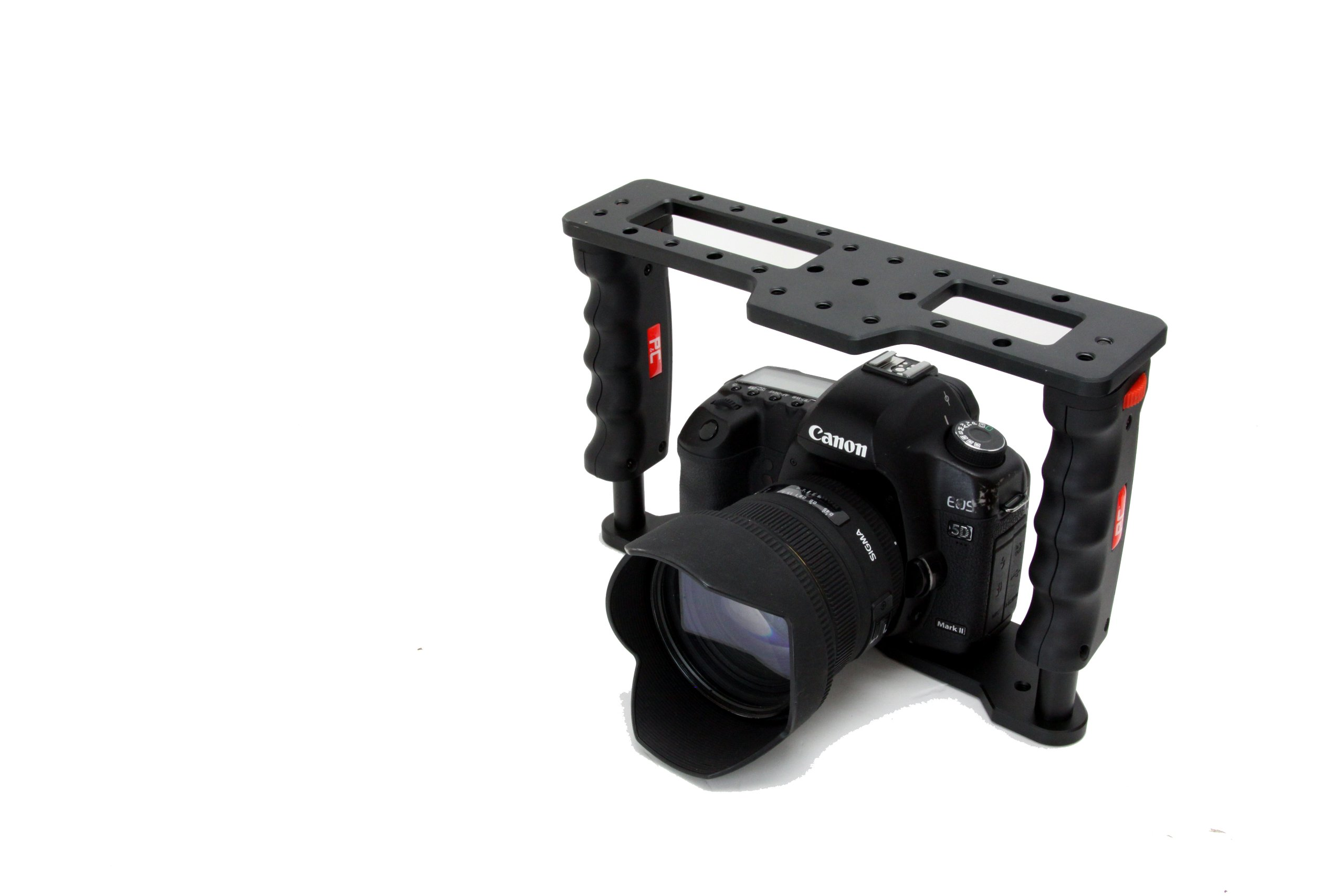 Photography & Cinema PNC GearBox Cage GB-1 for DSLR Cameras support full size Canon 5D Mark II