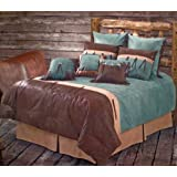Amazon.com: Western Decor Turquoise Cross Bedding Set Twin