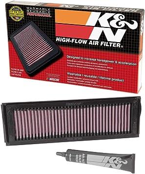 Air Filter~2005 Kawasaki ZX1000 Ninja ZX-10R Hiflofiltro HFA2915