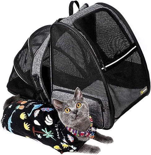 Texsens-Cat-Backpack-Carrier,-Super-Breathable-Carrier-Backpack