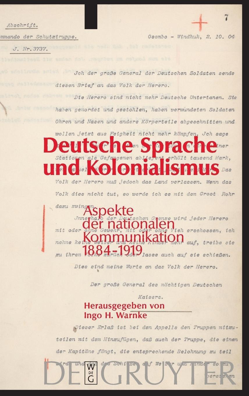Deutsche Sprache Und Kolonialismus Amazoncouk Ingo H Warnke