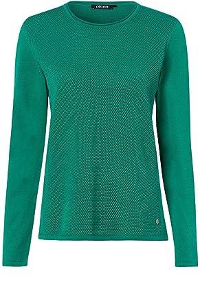 san francisco 612a8 621ff Olsen Damen Pullover Grün grün: Amazon.de: Bekleidung