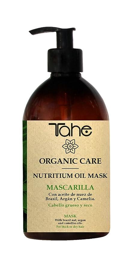 Tahe Organic Care Nutritium Oil Mask Mascarilla Capilar/Mascarilla para Cabello Grueso y Seco,