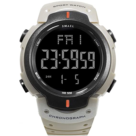 Beydodo Reloj Hombre Reloj Hombre Luminoso Relojes Electronicos Reloj Deportivo Reloj Impermeable Reloj Militar Reloj de
