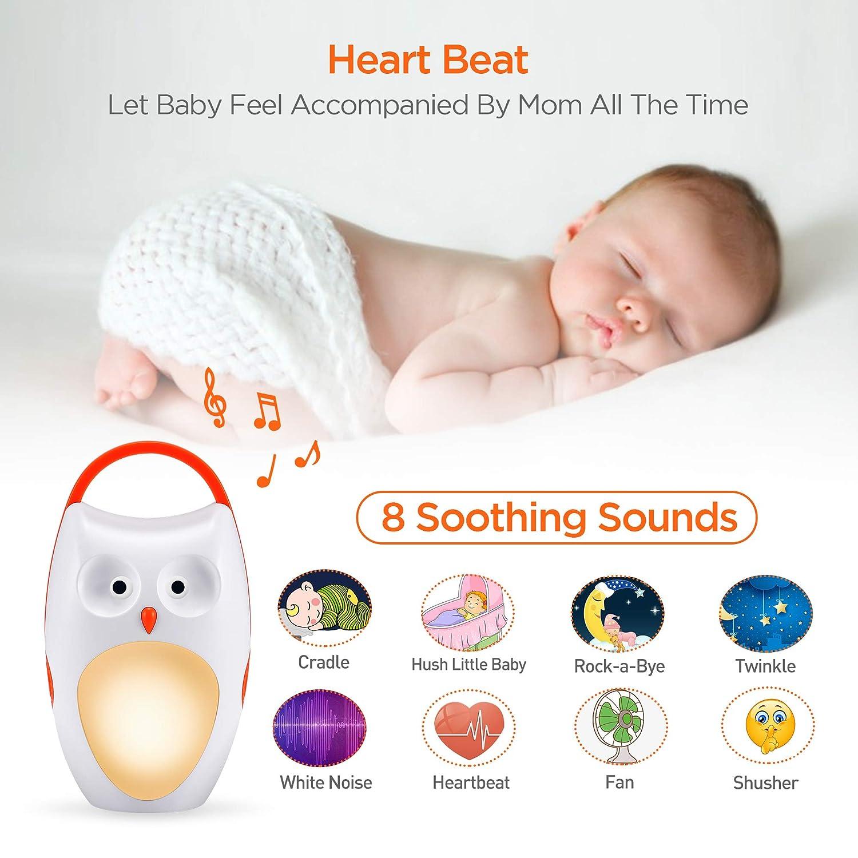 Amazon.com: Baby Sleep Soother Shusher máquinas de sonido ...