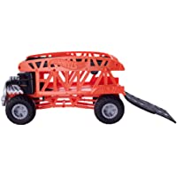 Hot Wheels Monster Trucks Taşıyıcı Kamyon, 12 adet 1:64 Ölçekli Araç Kapasiteli GKD37