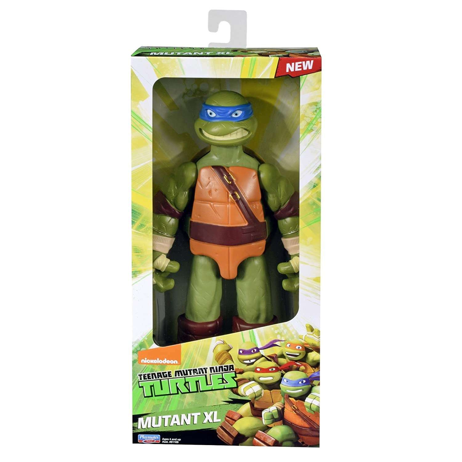 Amazon.com: Teenage Mutant Ninja Turtles XL, Leo: Toys & Games