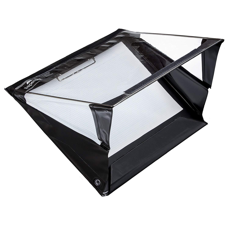 PVC di Alta Qualit/à Garanzia 18 Mesi Portablocco Paperdry A4 Orizzontale Waterproof