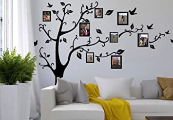 Family Tree Wall Decal Sticker Large With Decal Picture Frames Part 81