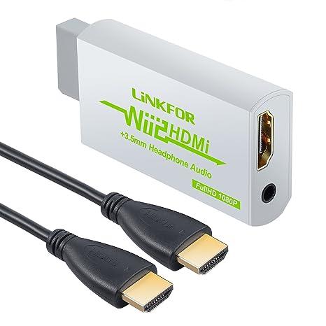 Amazon.com: linkfor Wii convertidor HDMI/Wii a HDMI ...