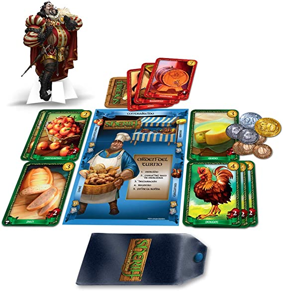 Fantasy Flight Games Edge Entertainment - El Sheriff de Nottingham ...