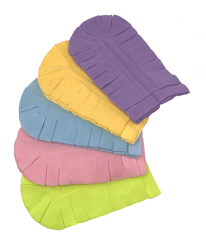Xanitize Fleece Refills for Swiffer Hand Duster Dry Duster 5-Pack Rainbow Reusable Jewel