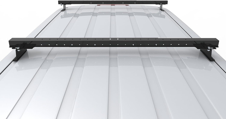 CADDY VAN AutoRack EasyBars 2004-to-new 2 BARS With Fittings -model Van Roof Rack Bars Rails