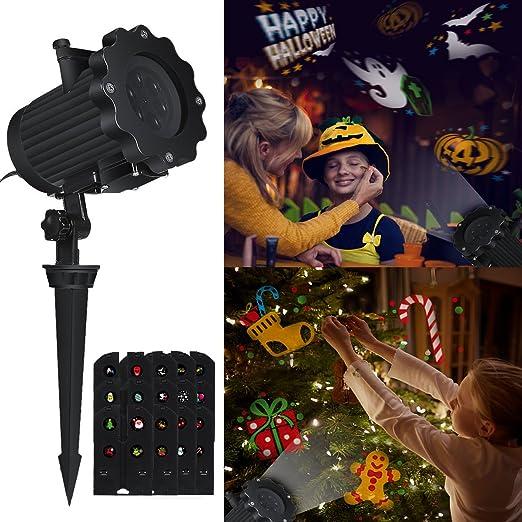 Luces de Proyector Navidad LED, Airlab Lámpara de proyección LED ...