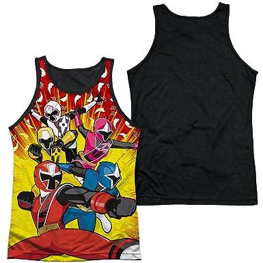 Amazon.com: Power Rangers - Mens Tank Top Shirt Go Go Ninja ...
