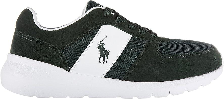 Polo Ralph LaurenScarpe Sneakers Uomo Camoscio Nuove ...