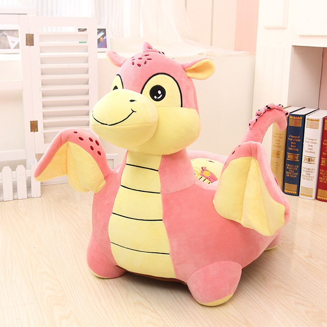 Beautiful Amazon.com: MAXYOYO Kids Plush Riding Toys Bean Bag Chair Seat For Children,Cartoon  Cute Animal Plush Sofa Seat,Soft Tatami Chairs,Birthday Gifts For Boys ...
