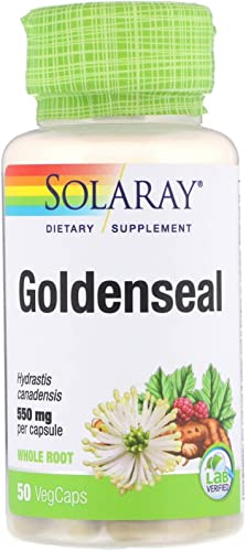 Solaray Goldenseal, 550 mg, 50 VegCaps