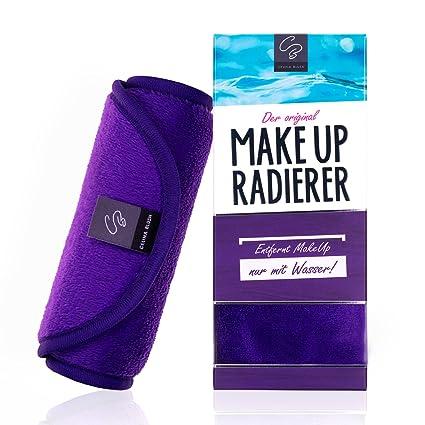 Toalla de Microfibra desmaquillante | Sólo se usa con agua | Toallitas para desmaquillaje | Makeup ...