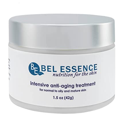 Bel esencia all-natural intensiva Antienvejecimiento Crema para piel grasa con caléndula, Escaramujo y