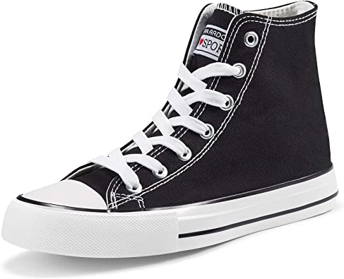 Womens High Tops Canvas Shoes Casual