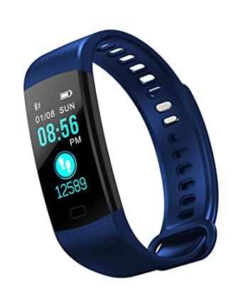 Amazon.com: Smart Bracelet with Blood Pressure Monitoring ...