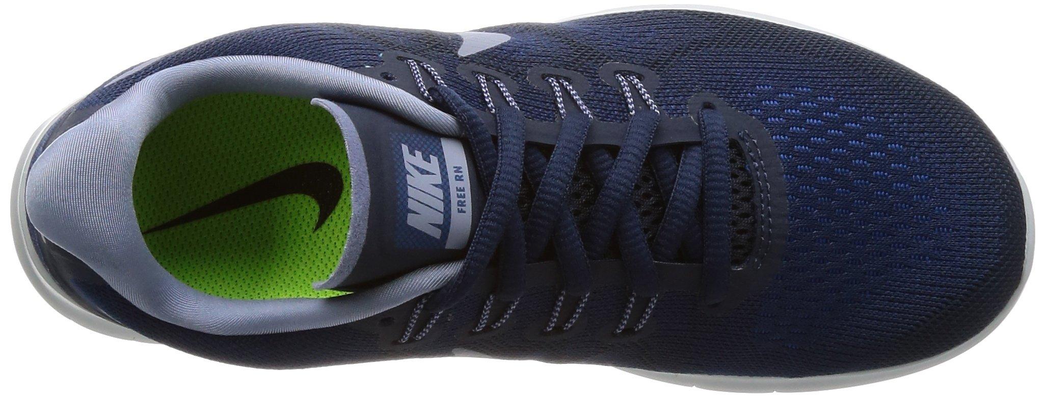 Nike Free RN 2017 Women's Running Shoes (6 M US, Binary Blue/Dark Sky Blue) by Nike (Image #7)