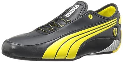 official photos 34c6e 8d552 Puma Men s Alekto Low Ferrari L Fashion Sneaker,Black Black,9.5 ...