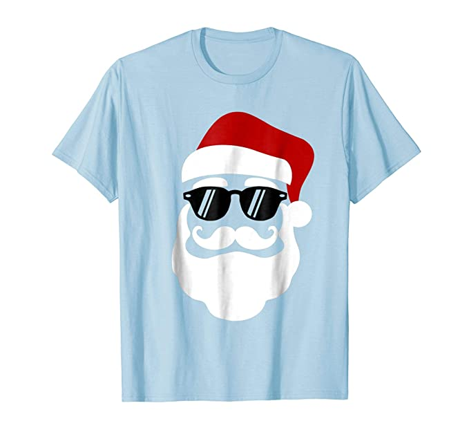 Amazon.com: Hipster Santa Claus With Sunglasses Funny Gift for ...