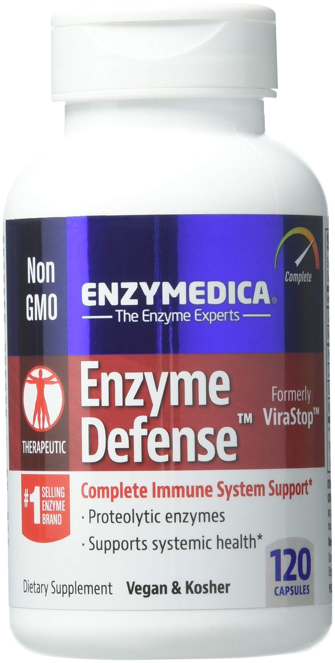 Enzymedica Mucostop: Candidase, Complete Support For