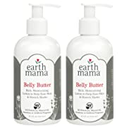 Earth Mama Belly Butter to Help Ease Skin and Stretch Marks, 8-Fluid Ounce (2-Pack)