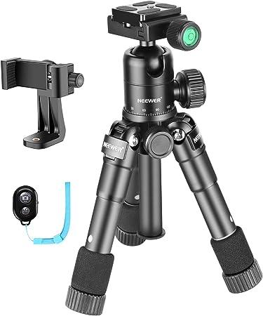 Neewer 50cm Tragbares Kompaktes Tisch Mini Stativ Mit Kamera