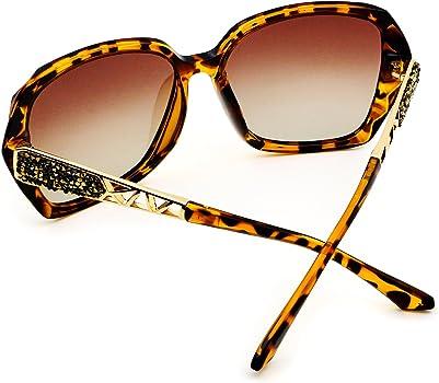 bb27b26224 LECKIRUT Donna Ombra Classico Oversize Polarizzati Occhiali da Sole 100% UV  Protezione Occhiali. LECKIRUT - Occhiali da sole - Oversize - Donna ...