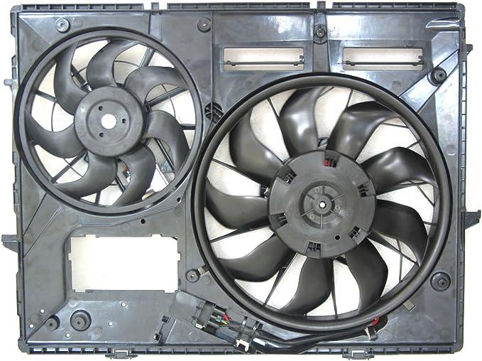 CPP doble radiador y condensador Ventilador vw3115111 para 04 – 10 ...