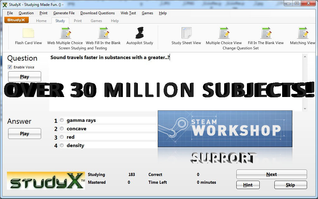 StudyX Learning Software [Download]