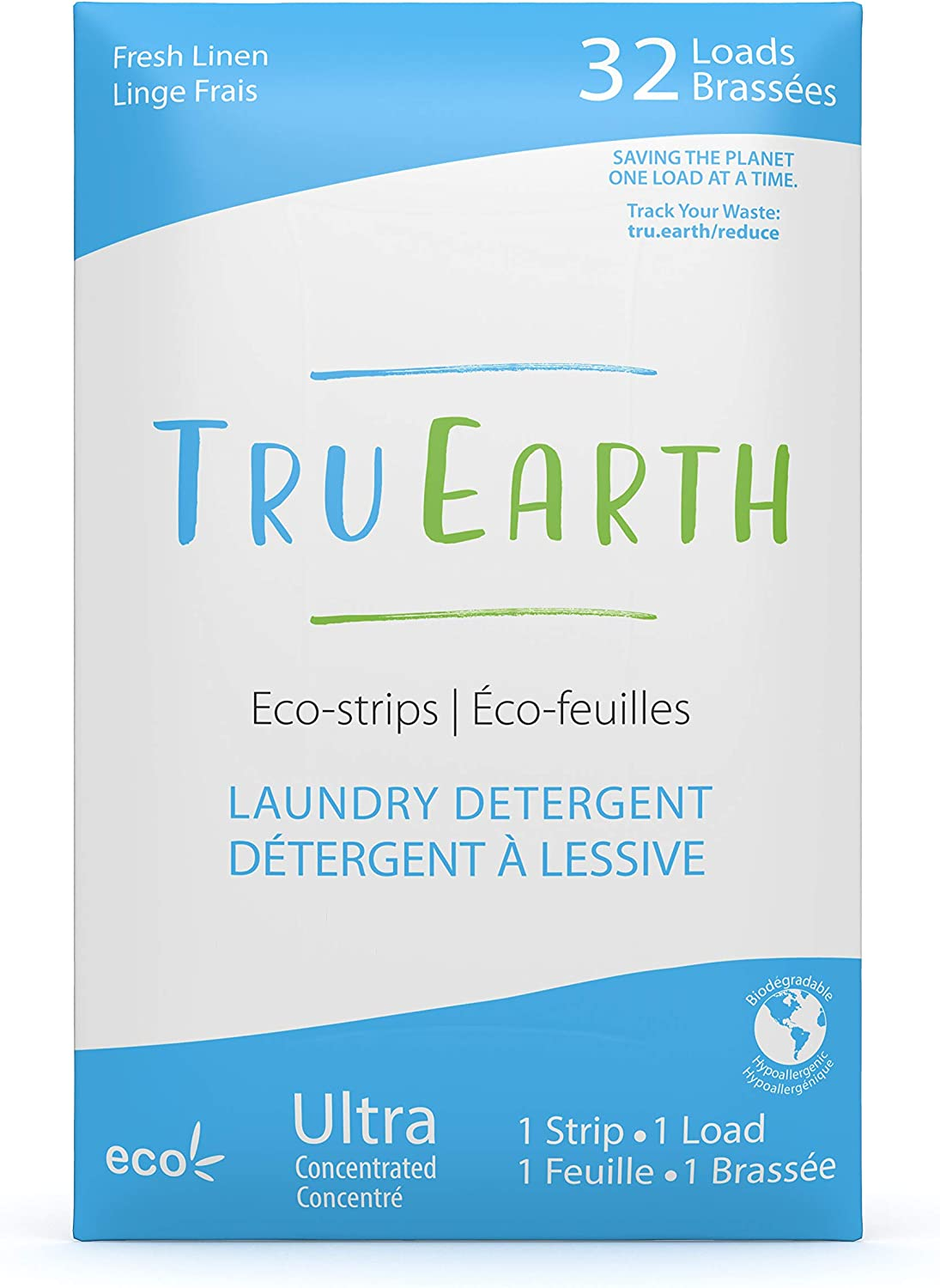 Tru Earth Eco Strips Laundry Detergent Eco Friendly Ultra