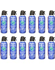 DAC Compressed Air Can for Computer - Air Duster - Canned Air - Keyboard Cleaner - Computer Cleaning - Air Blower - Dust Remover - 10 oz. 100% Ozone Safe, 12 Pack