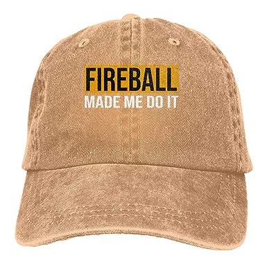 Novelcustom Sombreros Ajustables Ajustables de Mezclilla Fireball ...