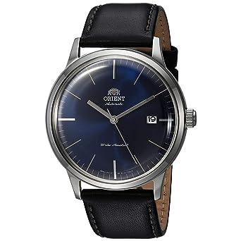 Orient Reloj Analógico para Hombre de Automático con Correa en Cuero FAC0000DD0: Amazon.es: Relojes