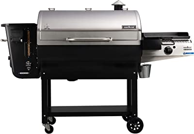 Camp Chef 36 in. WiFi Woodwind Pellet Grill & Smoker with Sidekick (PG14) - WiFi & Bluetooth Connectivity