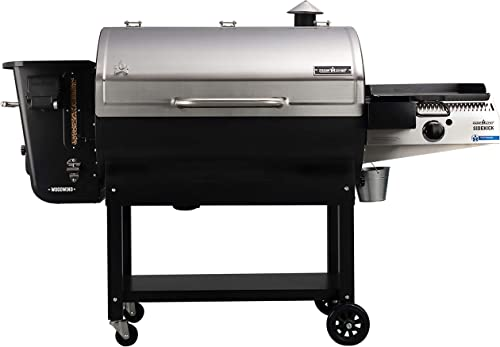 Camp Chef 36 in. WiFi Woodwind Pellet Grill Smoker with Sidekick PG14 – WiFi Bluetooth Connectivity