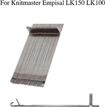 50PCS//Set machine à tricoter aiguille fit for LK100 LK150 Accessoires KH360 Set