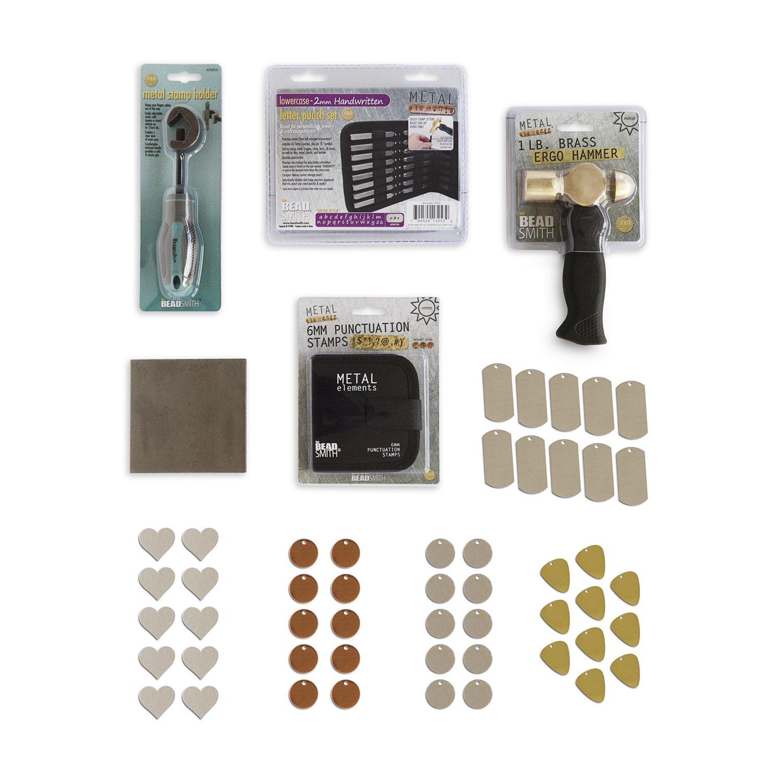 RMP Metal Stamping Kit Handwritten Lowercase Rose Metal Products 4336835072