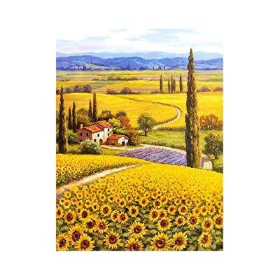 [ Puzzle life ] Sunflower Field 2 | 1000 Piece Jigsaw Puzzle: Toys & Games